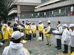H21.3東京マラソン奉仕1