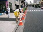 H21.3東京マラソン奉仕3
