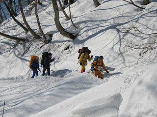 雪中キャンプ008