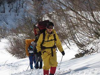 雪中キャンプ011