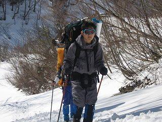 雪中キャンプ012