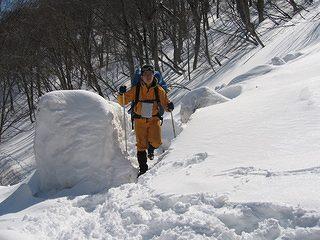 雪中キャンプ013