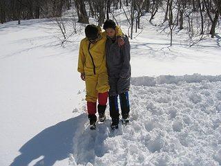 雪中キャンプ018