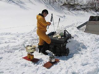 雪中キャンプ019