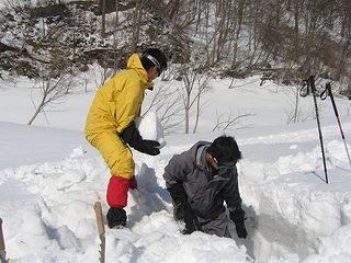 雪中キャンプ020