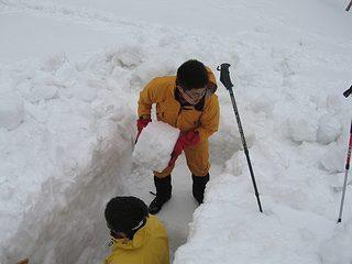 雪中キャンプ022