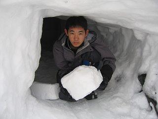 雪中キャンプ029