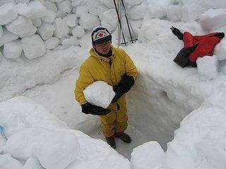 雪中キャンプ030