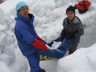 雪中キャンプ032