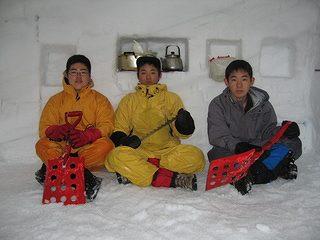 雪中キャンプ035