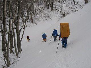 雪中キャンプ040